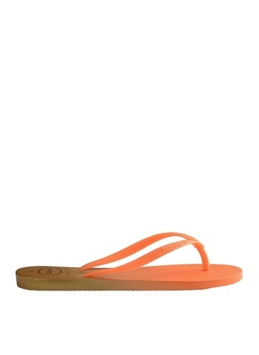 Havaianas Havaianas Kadın Neon Turuncu Plaj Terliği Oranj